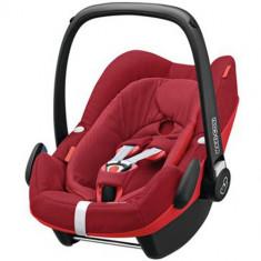 Cosulet Auto Pebble Plus 0-13 kg Robin Red - Scaun auto copii grupa 0+ (0-13 kg) Maxi Cosi, 0+ (0-13 kg), Isofix, Rosu