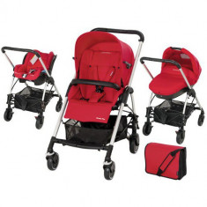 Sistem Trio Plus Streety Intense Red - Carucior copii 2 in 1 Bebe Confort