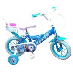Bicicleta Frozen 12 inch - Bicicleta copii Toimsa