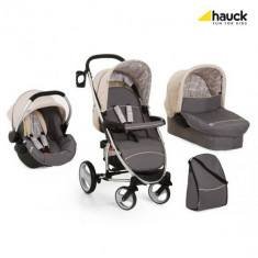 Set Carucior Malibu XL All in One Rock - Carucior copii 2 in 1 Hauck