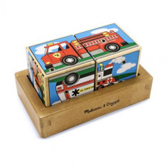 Cuburi Sonore Vehicule - Jocuri Forme si culori