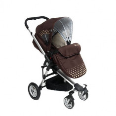 Carucior 2 in 1 Kraft Brown - Carucior copii 2 in 1 Kinderkraft
