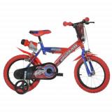 Bicicleta Spiderman 16 inch - Bicicleta copii Dino Bikes