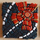 Cadou deosebit hand made- suport pahar mozaic