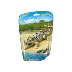 Aligator cu Pui - Figurina Povesti Playmobil