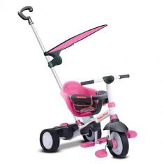 Tricicleta 3 in 1 Charm Plus Roz - Tricicleta copii