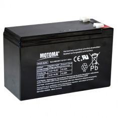 Acumulator VRLA SLA AGM Plumb Acid 12V, 7.5Ah - Masinuta electrica copii