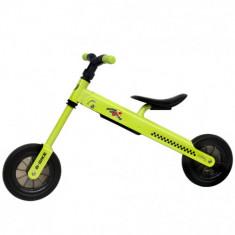 Bicicleta fara Pedale B-Bike Verde - Bicicleta copii
