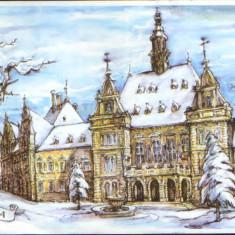 Romania - CP circulata 1998 - Deva - Carte Postala Transilvania dupa 1918, Fotografie