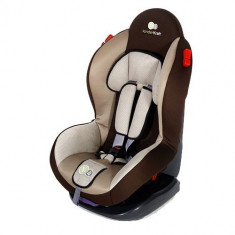 Scaun Auto Shell Plus Brown - Scaun auto copii Kinderkraft, 0+ (0-13 kg), Isofix
