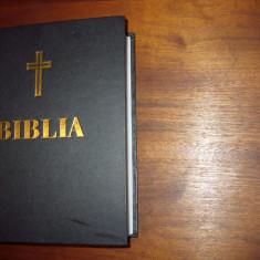 BIBLIA SAU SFANTA SCRIPTURA (editie jubiliara a Sf. Sinod, cu autograf, f.rara)
