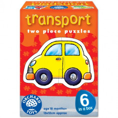 Set 6 Puzzle orchard toys Transport