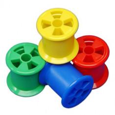 Cotton Reels - Bobine din Plastic - Jocuri arta si creatie Galt