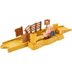Set Pista Lansator - Tractor Tippin Cars - Masinuta Mattel