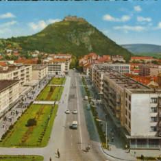 Romania - CP circulata 1969 - Deva - Vedere generala - Carte Postala Transilvania dupa 1918, Fotografie