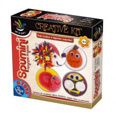 Set Creativ Spumini Magnet de Frigider - Jocuri arta si creatie D-Toys