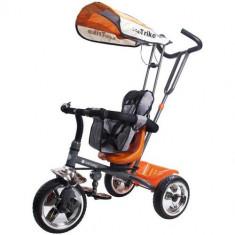 Tricicleta Super Trike Orange - Tricicleta copii