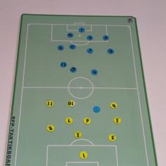 Panou / Tabla magnetica antrenor FOTBAL pentru pregatire tactica, 60x90cm - Set echipament fotbal, Marime: Alta
