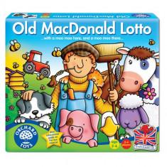 Joc Educativ Loto Old MacDonald - Jocuri Logica si inteligenta orchard toys