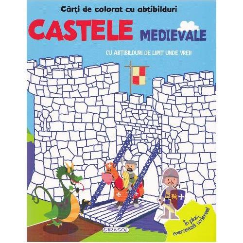 Carte De Colorat Cu Abtibilduri Castele Medievale Arhiva