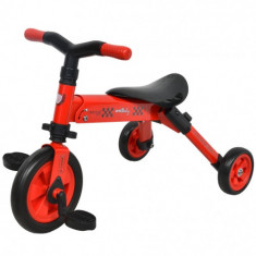 Tricicleta 2 in 1 B-Trike Rosu - Tricicleta copii DHS Baby