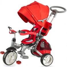 Tricicleta Modi Rosu - Tricicleta copii Coccolle