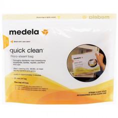 Pungi pentru Sterilizare la Microunde Quick Clean - Sterilizator Biberon, Pentru microunde