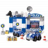 Set Constructii Sectia de Politie - Set de constructie Ecoiffier