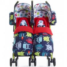 Carucior Gemeni Supa Dupa Cuddle Monster - Carucior copii 2 in 1 Cosatto