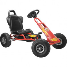 Kart Air Runner Rosu - Kart cu pedale ferbedo