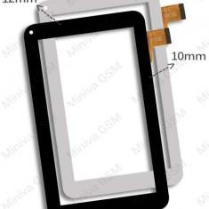 Touchscreen Geam Sticla UTOK 701D Ultra Alb (M.G.)