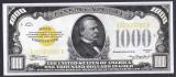 Bancnota Statele Unite ale Americii 1,000 Dolari 1934 - P409 UNC ( replica )