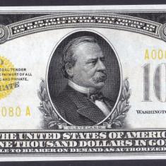 Bancnota Statele Unite ale Americii 1, 000 Dolari 1934 - P409 UNC ( replica ) - bancnota america