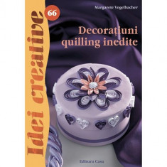 Decoratiuni Quilling Inedite 66 - Idei Creative - Carte de colorat