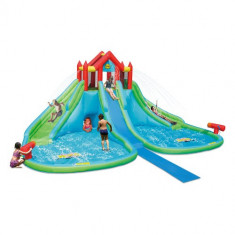 Saltea Gonflabila Gigant Water Park Happy Hop