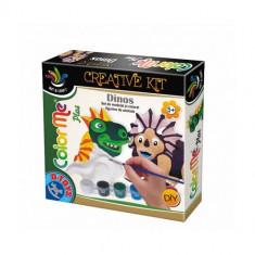 Joc Creativ Color Me Plus Dino - Jocuri arta si creatie D-Toys