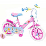 Bicicleta Disney Princess, 12 inch, Stamp