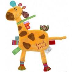Minipaturica Friends - Girafa - Jucarie pentru patut