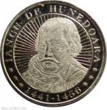 ROMANIA 50 bani 2016 - Iancu de Hunedoara - UNC, Alama