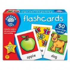 Joc Educativ in Limba Engleza Cartonase - Jocuri Logica si inteligenta orchard toys