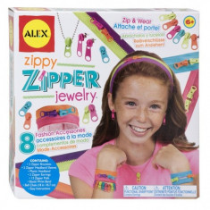 Bijuterii cu Fermoare Alex Toys