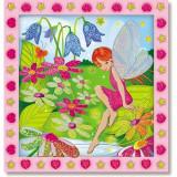 Set de Creatie Mozaic pe Numere Gradina Zanelor - Jocuri arta si creatie