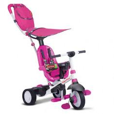 Tricicleta 3 in 1 Charisma Roz - Tricicleta copii