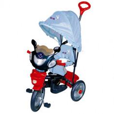 Tricicleta Jolly Ride Albastru, DHS Baby