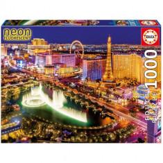 Puzzle Educa Neon 1000 Piese Las Vegas