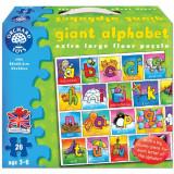 Puzzle Gigant de Podea Alfabetul 26 Piese, orchard toys