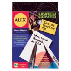 Kit de Spionaj pentru Mesaje Secrete - Jocuri arta si creatie Alex Toys