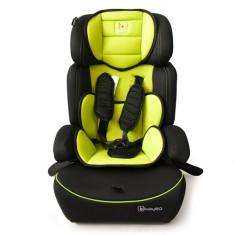Scaun Auto FreeMove 9-36 kg Green - Scaun auto copii BabyGo, 1-2-3 (9-36 kg), Isofix
