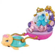 Filly Ponei Sirena cu Caleasca Albastra - Figurina Povesti
