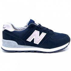 Adidasi New Balance Bleumarin - Adidasi barbati Nike, Marime: 43, Culoare: Din imagine, Piele sintetica